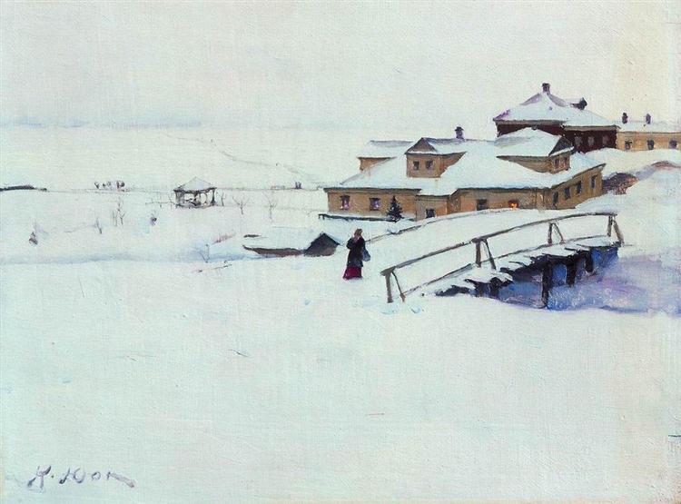 The Winter Landscape, 1910 - Konstantin Yuon