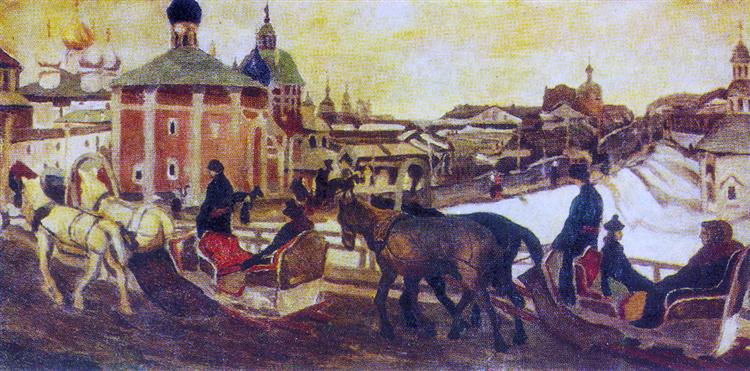 To Troyitsa, 1903 - Konstantin Yuon