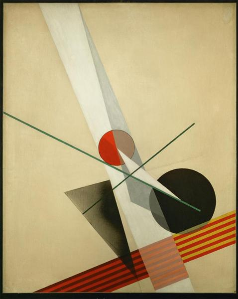 Composition A XXI, 1925 - Laszlo Moholy-Nagy