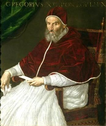 Pope Gregory XIII - Lavinia Fontana