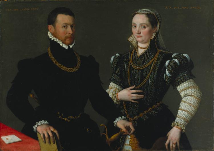 Portrait of a Couple, 1580 - Лавиния Фонтана