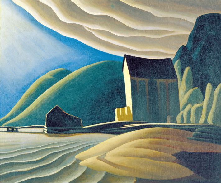 Ice House, Coldwell, Lake Superior, 1923 - Lawren Harris