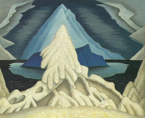 Winter comes from the Arctic to the Temperate Zone, 1935 - Lawren Harris
