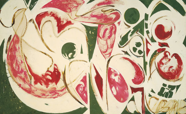 The Sun Woman II, 1958 - Lee Krasner