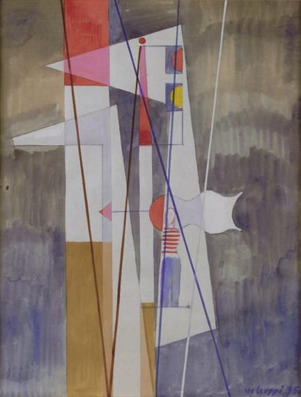 Studie zu Nordsee, 1935 - Leo Leuppi