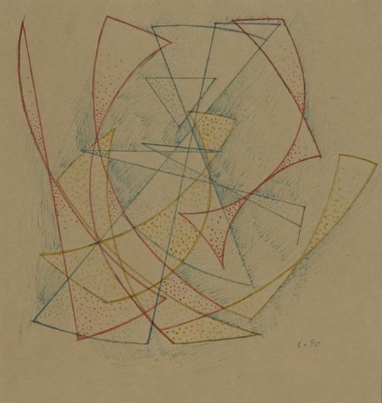 Untitled, 1940 - Leo Leuppi