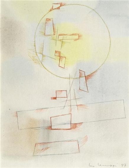 Untitled, 1947 - Leo Leuppi