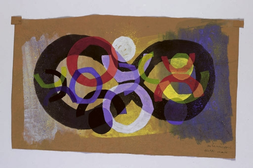 Untitled, 1952 - Leo Leuppi