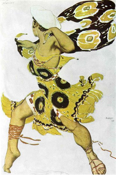 Narcisse a youth, 1911 - Leon Bakst