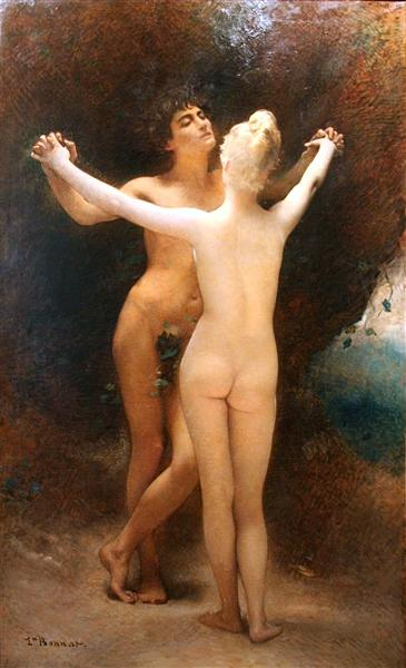 Idylle, 1890 - Leon Bonnat