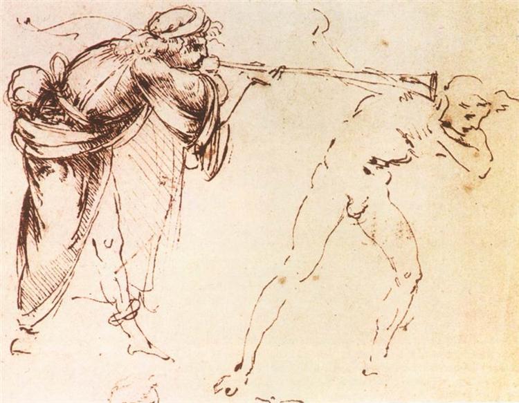 Study, c.1478 - Leonardo da Vinci