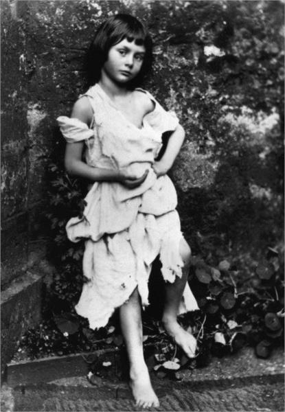 Alice Liddell, 1858 - Льюис Кэрролл
