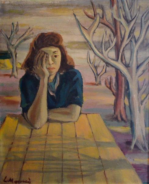 Self-Portrait, 1943 - Ligia Macovei