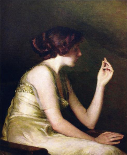 The Pearl, 1913 - Lilla Cabot Perry