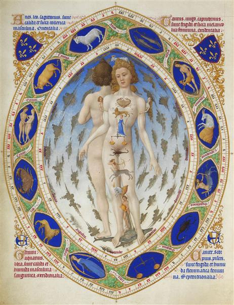 The Anatomy of Man - Limbourg brothers - WikiArt.org