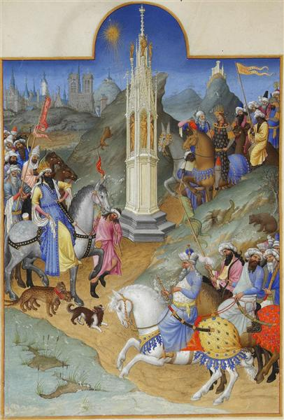The Meeting of the Magi - Limbourg brothers