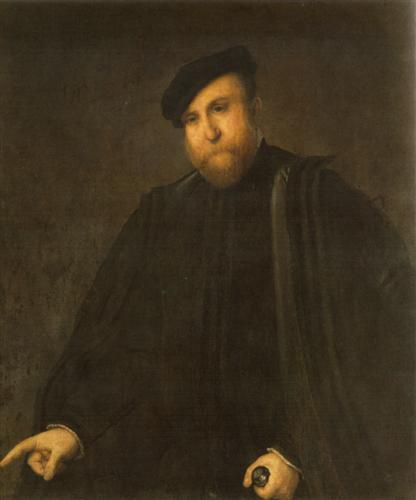 Portrait of a man - Lorenzo Lotto