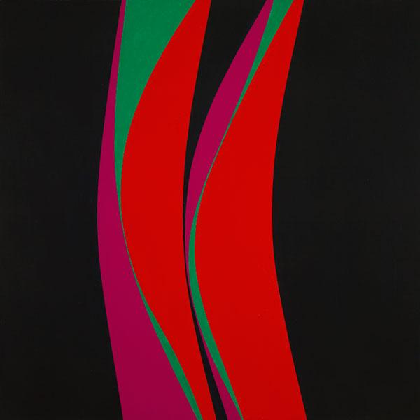 Untitled (February 4), 1967 - Lorser Feitelson