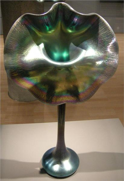 Jack In The Pulpit Vase 1913 Louis Comfort Tiffany Wikiart