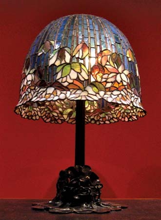 Pond Lily Table Lamp Model No 344 1910 Louis Comfort Tiffany