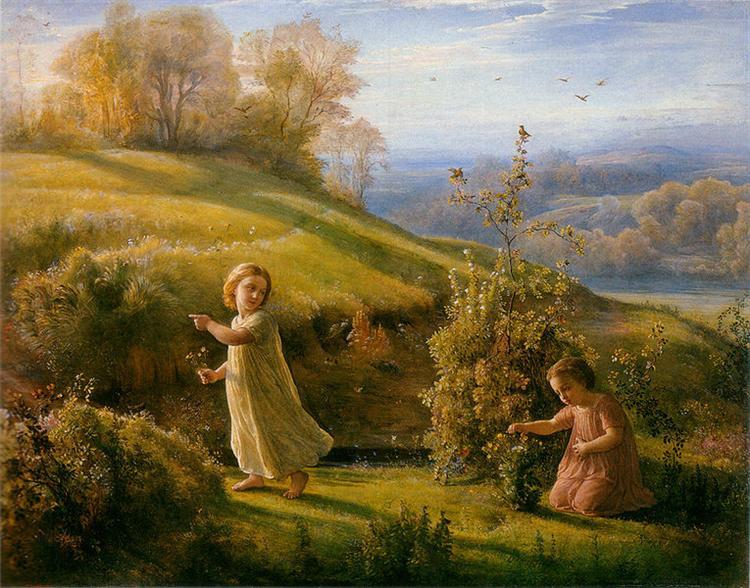 Poème de l'âme 4: Le Printemps - Louis Janmot