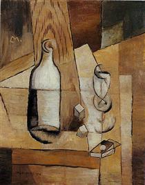 Nature morte cubiste - Louis Marcoussis