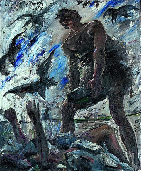 Cain, 1917 - Lovis Corinth
