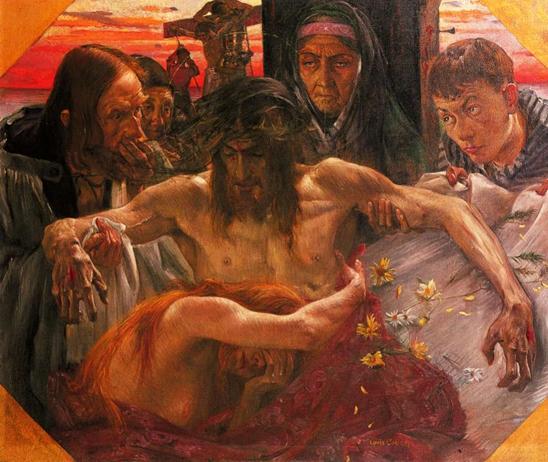 The Deposition, 1895 - Ловис Коринт