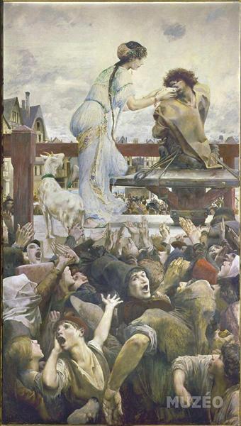 Esmeralda and Quasimodo, 1905 - Люк-Олів'є Мерсон