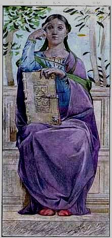 Woman in contemplation, 1901 - Люк-Олів'є Мерсон