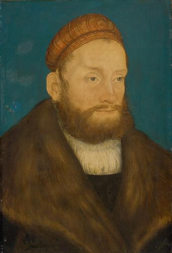 Casimir, Margrave of Brandenburg, 1522 - Lucas Cranach der Ältere