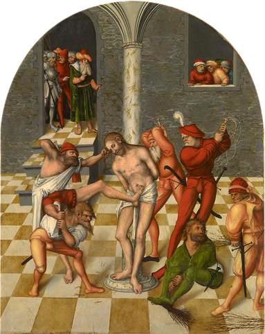 Flagellation of Christ, 1538 - Lucas Cranach der Ältere