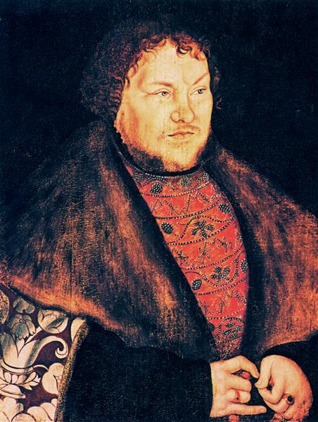Joachim I Nestor, Elector of Brandenburg, 1529 - Lucas Cranach der Ältere