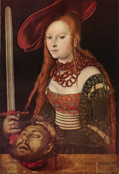 Judith, c.1515 - Lucas Cranach the Elder