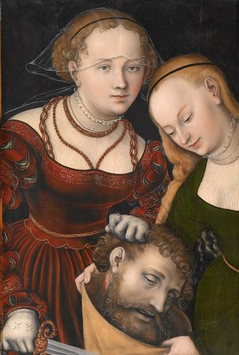 Judith with the head of Holofernes, c.1537 - Lucas Cranach der Ältere