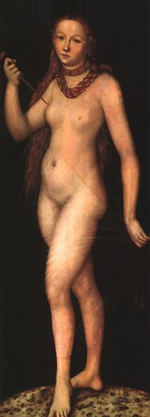 Lucretia, c.1524 - Lucas Cranach der Ältere