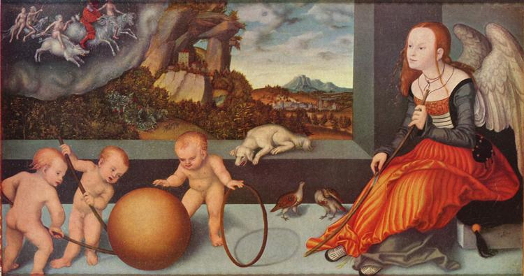Melancholy, 1532 - Lucas Cranach the Elder
