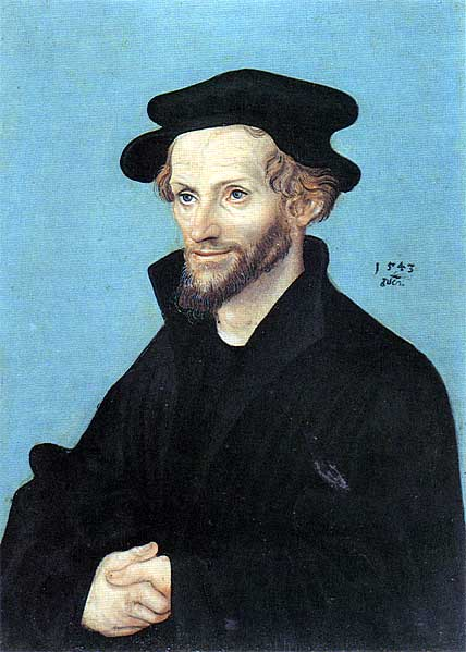 Portrait of Philipp Melanchthon, 1543 - Lucas Cranach the Elder