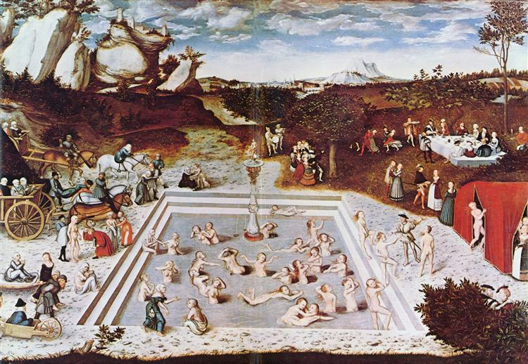 The Fountain Of Youth, 1546 - Lucas Cranach the Elder
