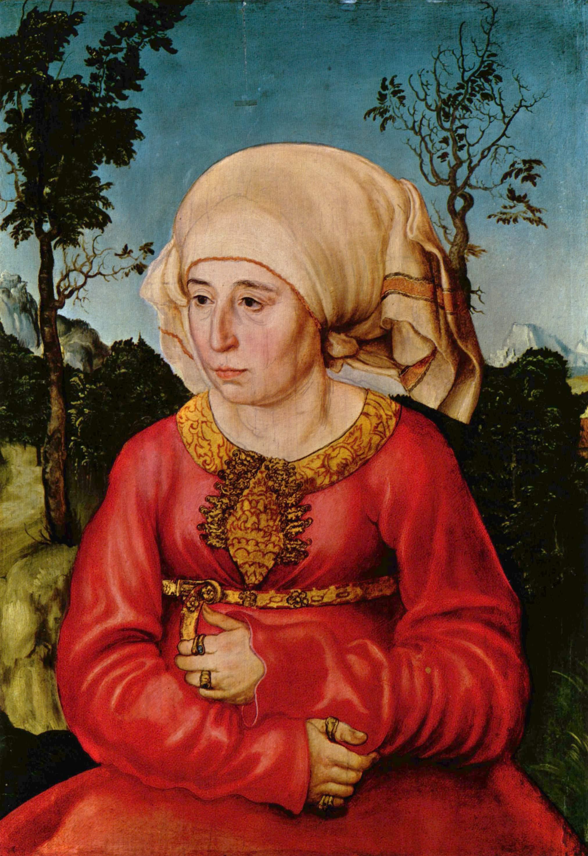 lucas-cranach-the-elder/wife-of-dr-johann-stephan-reuss