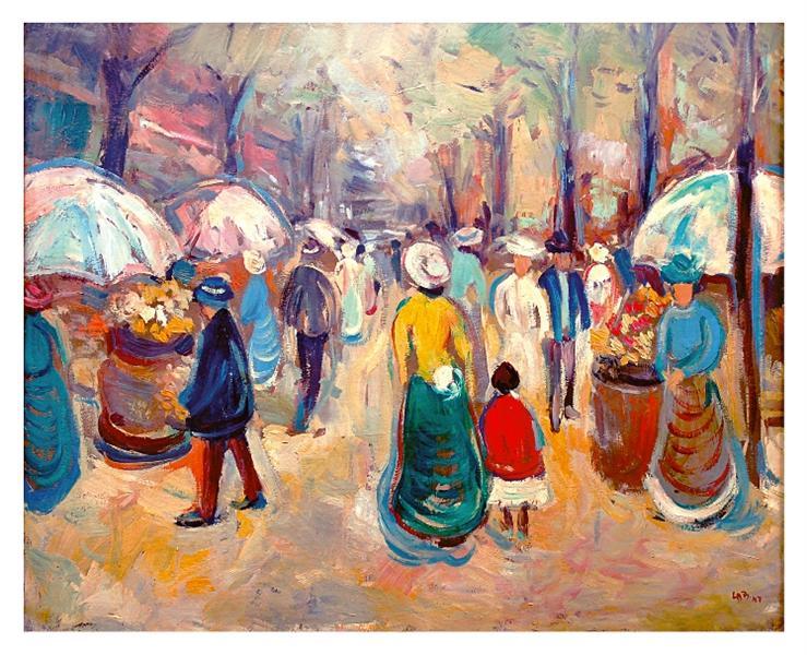 Promenada pariziană, 1947 - Lucia Demetriade Balacescu