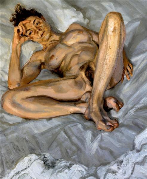 Naked Portrait, 2004 - 2005 - Lucian Freud