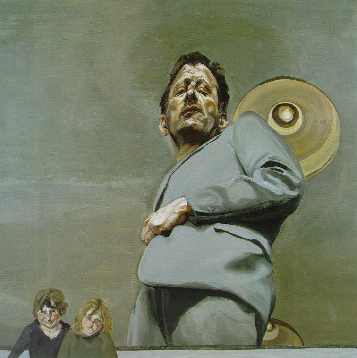 Image result for lucian freud self portrait