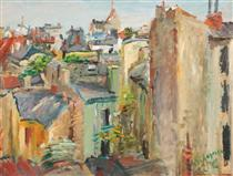 Rooftops Seen from Sf. Gheorghe Square - Lucian Grigorescu