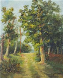 Mogoșoaia Forest Path - Lucian Grigorescu