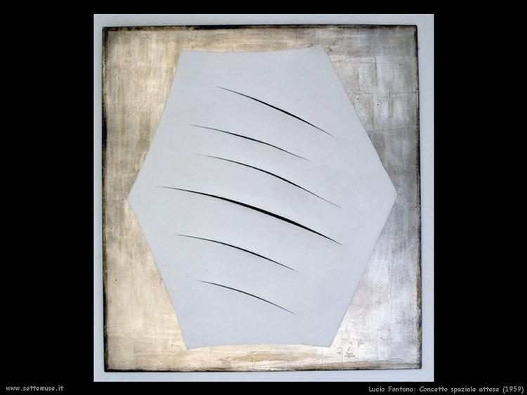 Concept Spatiale, 1959 - Лучо Фонтана