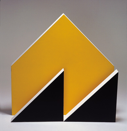 Sculpture. Black and Yellow, 1965 - Lygia Pape