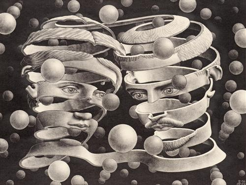Bond of Union - M.C. Escher