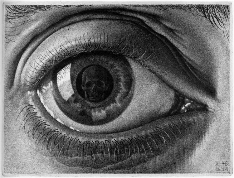 Eye, 1946 - M.C. Escher