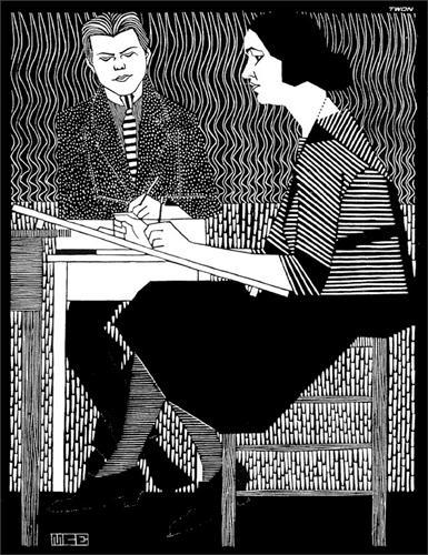 In Mesquitas Classroom - M.C. Escher